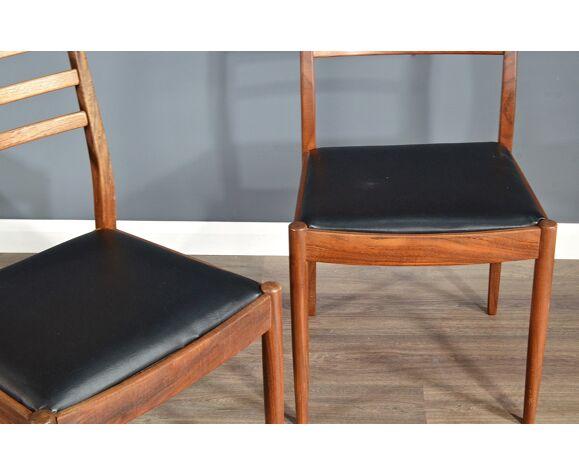 Ensemble de 4 chaises par G Plan