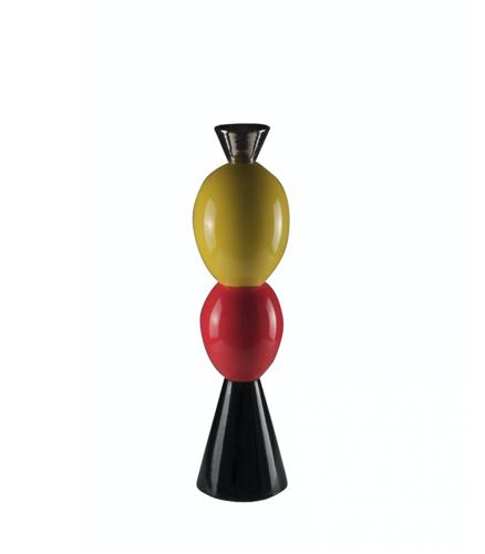Vase d'Alessandro Mendini, totem «Stoa», Lim. Ed. 10/50, Superego, Milan
