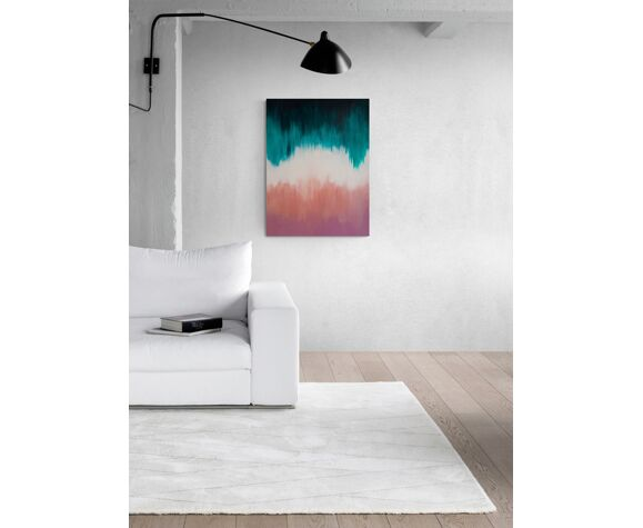 Hunting High and Low - Toile d'art abstrait originale