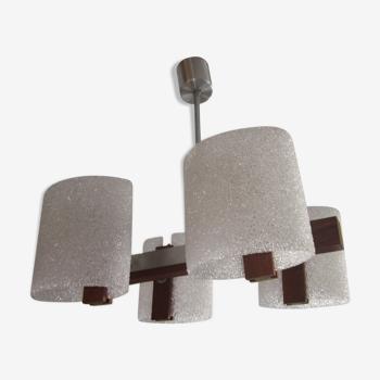 Scandinavian teak chandelier