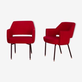 Paire de fauteuils de Marc et Pierre Simon