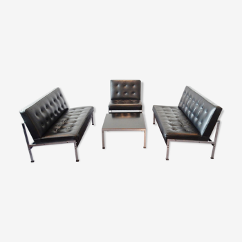 Model 020 vintage seat group by Kho Liang Ie for Artifort