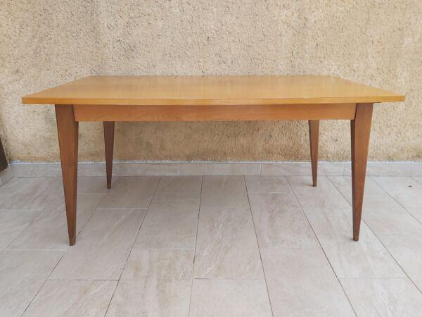 Table avec allonges années 50