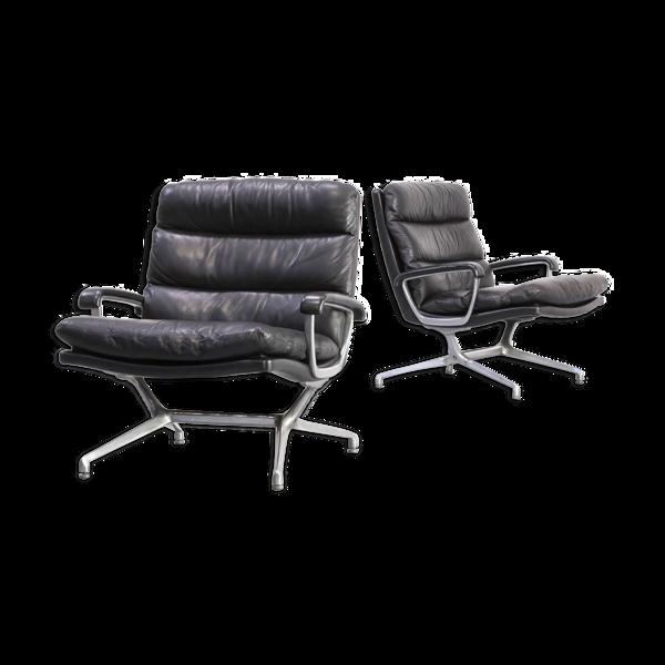 Selency Paire de fauteuils de Paul Tuttle pour Strässle International, 1960