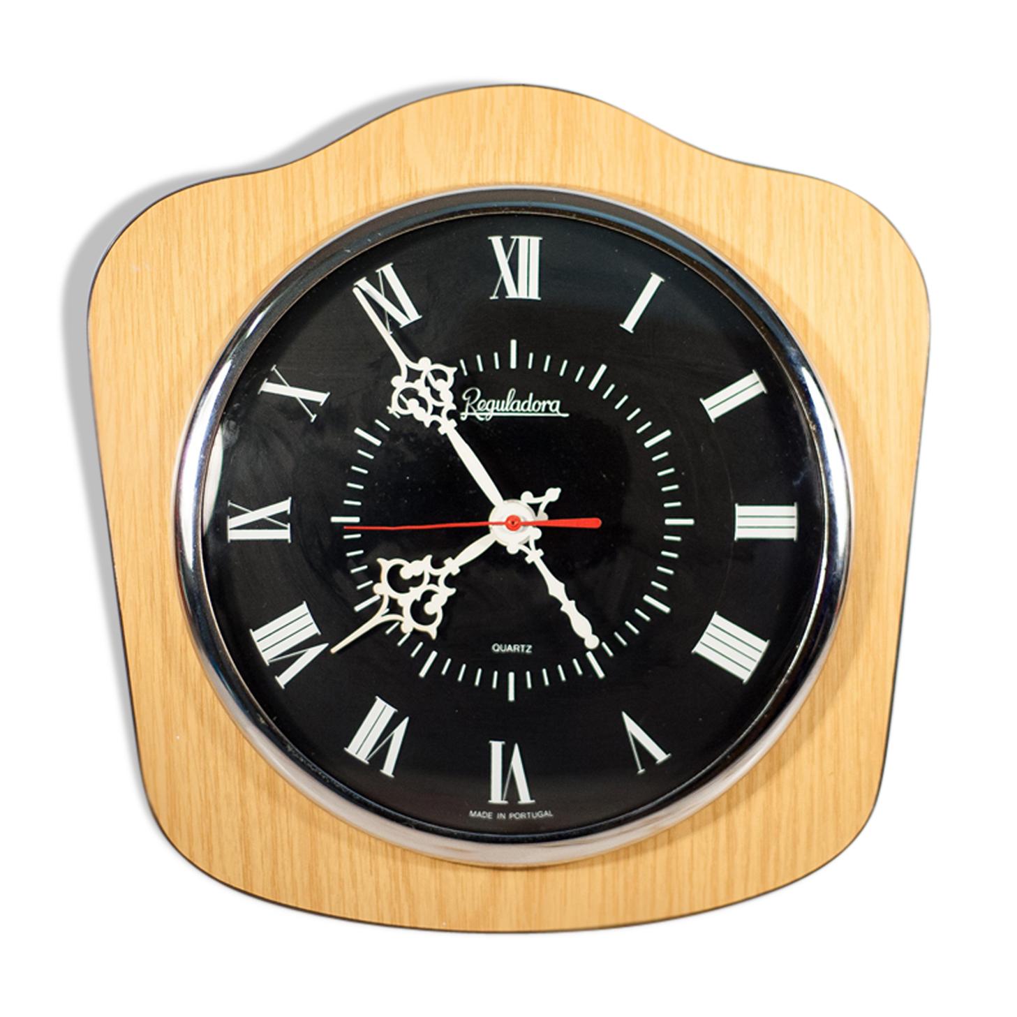 Horloge vintage en formica années 70