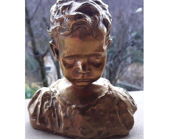 Buste en bronze xix eme.