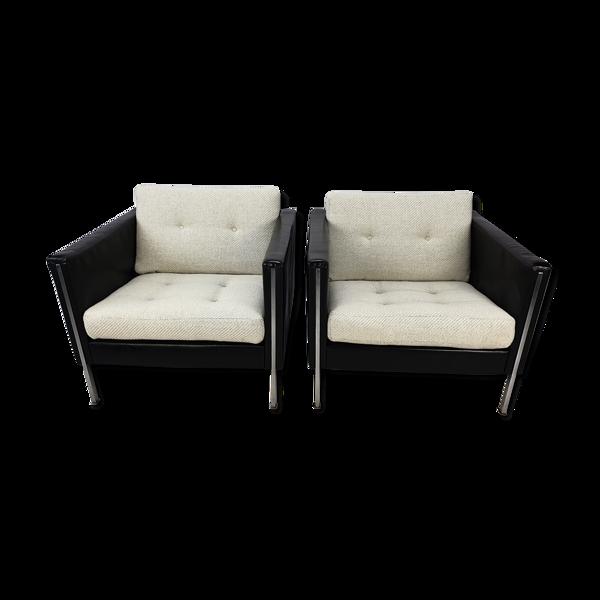 Paire de fauteuils 442 par Pierre Paulin pour Artifort, 1960