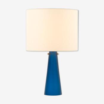 Lampe de table avec base en verre - années 1960