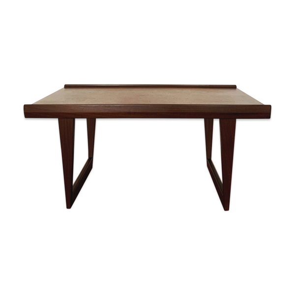 Selency Danish Modernist teakwood coffee table or bench