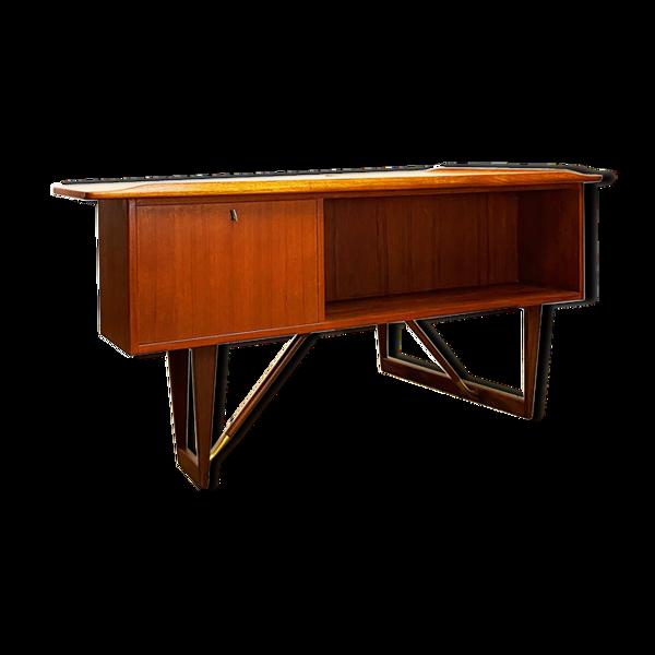 Bureau Boomerang moderne danois par Peter Løvig Nielsen pour Hedensted Møbelfabrik