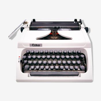 Typewriter Erika 150 White collector revised ribbon new