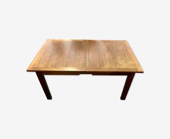 Table à manger vintage extensible