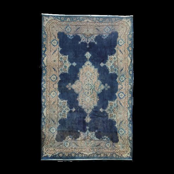 Tapis vintage de secteur de Kerman  200x300cm
