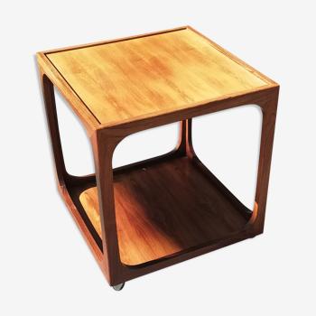 Table basse scandinave palissandre