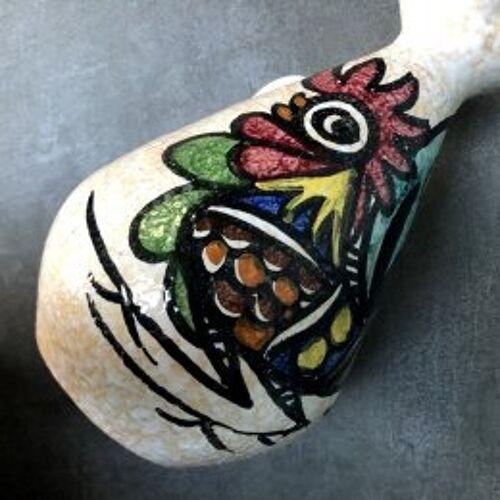 Pichet coq céramique