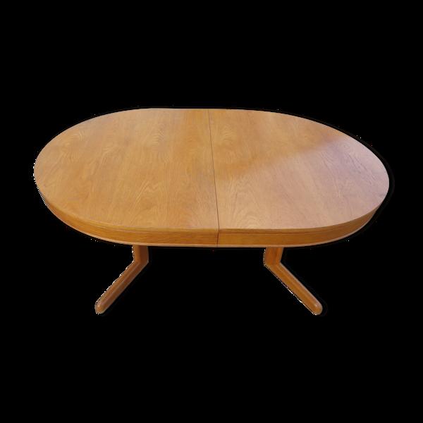 Selency Table vintage ovale en chêne