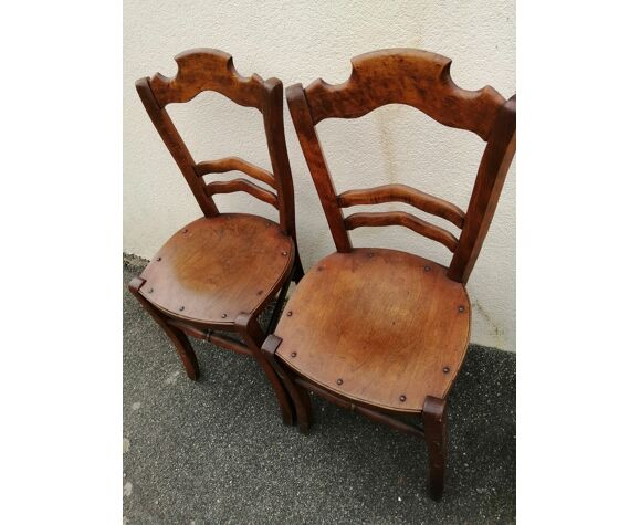5 chaises Luterma