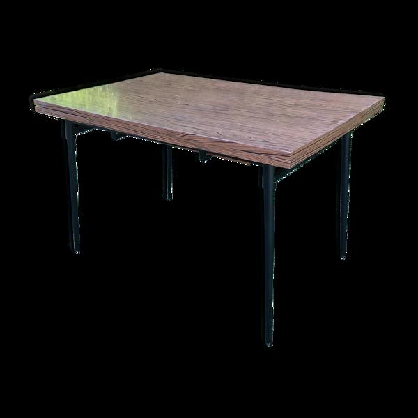 Table avec rallonges années 50