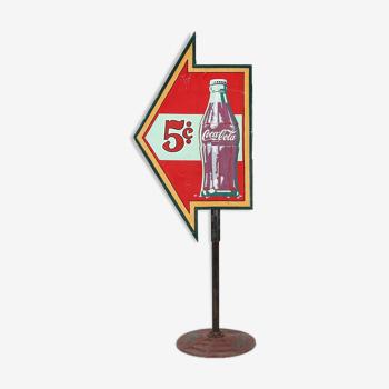 Panneau publicitaire Coca Cola 1950