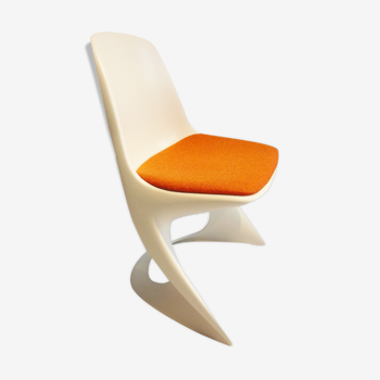 Chaise casala galette orange