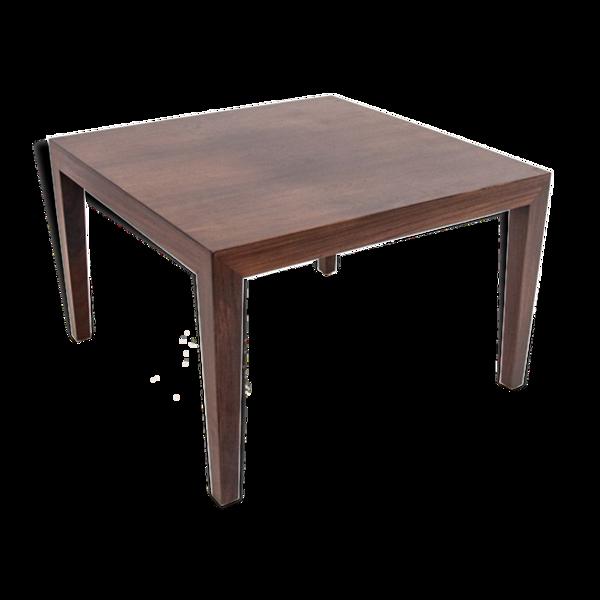 Table basse danoise en bois de rose rénovée