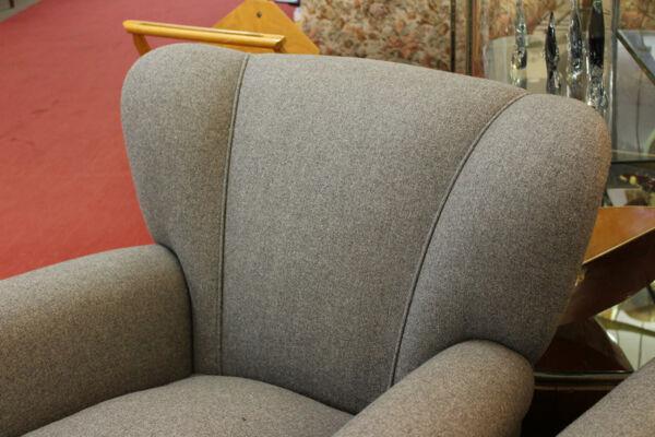 Paire de fauteuils italiens 50'