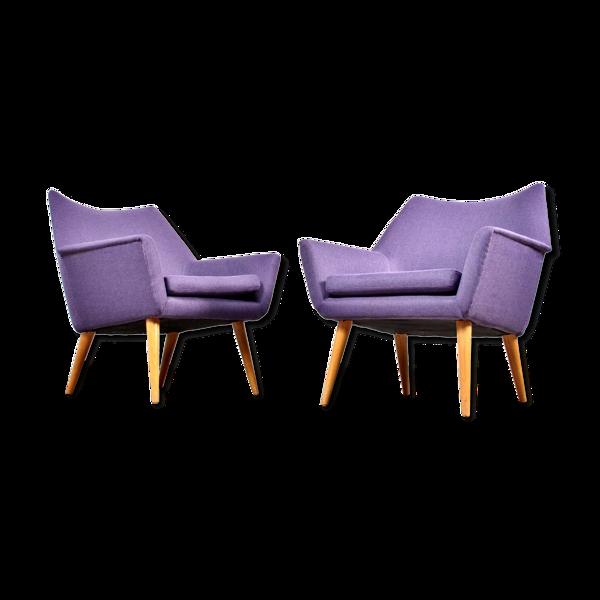 Selency Paire de fauteuils vintage des années 50/60