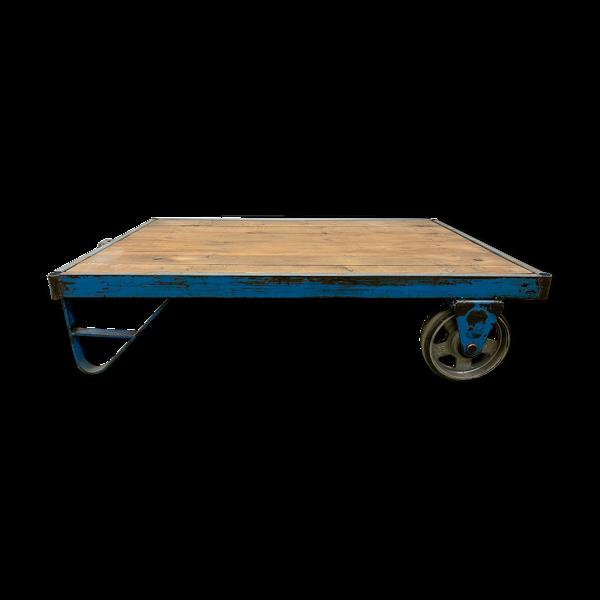 Table basse industrielle, années 1960