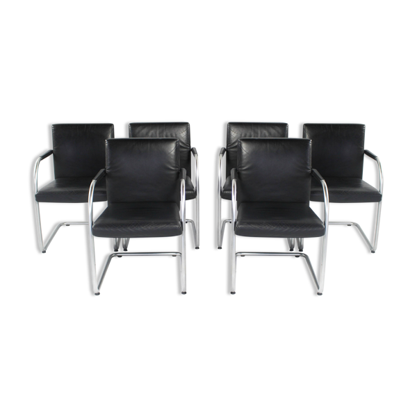 Leather chairs by Antonio Citterio for Vitra, 2000