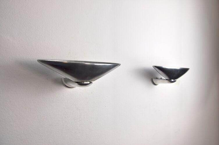 """Paire d'appliques """"Regina"""" de Jorge Pensi pour B.Lux, Espagne, 1980."""