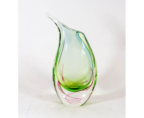 Vase en verre de Murano de Michèle Onesto
