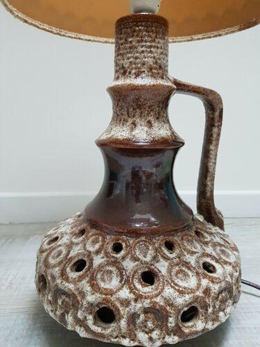 Lampe de table vintage avec son abat-jour