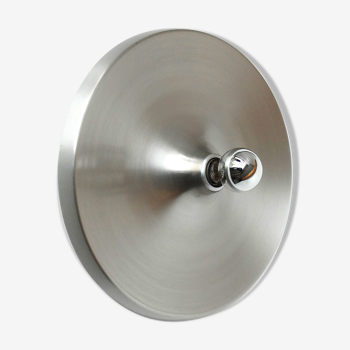 Applique Space Age Flush Light Les Arcs aluminium brossé