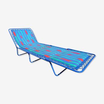 Transat relax chaise longue pliante Lafuma vintage