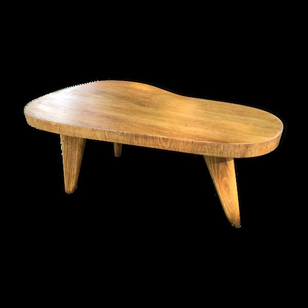 Table basse de forme libre - années 50