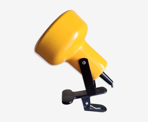 Lampe spot jaune 1960