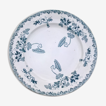 "Plate saint amand and hamage ""modern style"""