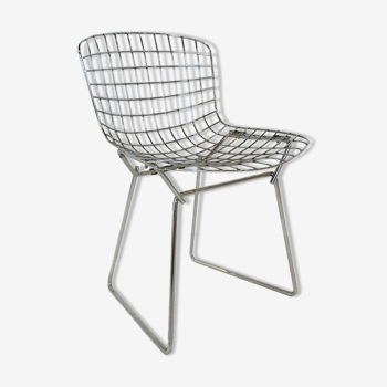 """Child chair """"Wire"""" by Harry Bertoia for Knoll International"""