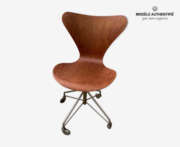 Chaise série 7 Friz par Arne Jacobsen pour pour Fritz Hansen