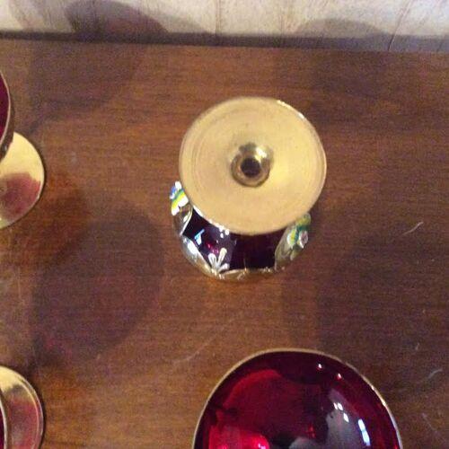 Service en cristal de Murano