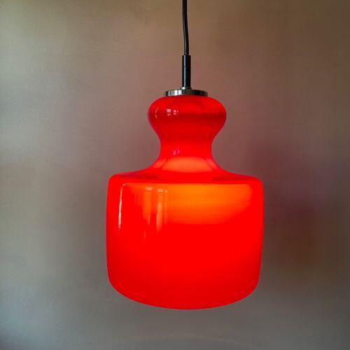 Vintage hanging lamp, pop art, 70's Germany