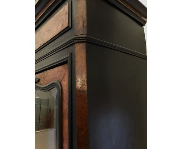 Armoire vitrine Napoleon III