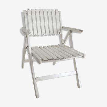 Vintage folding garden chair by R Gleizes
