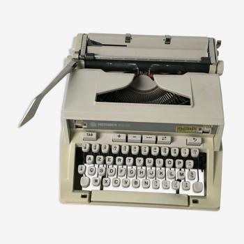 Machine à écrire Hermès 3000 typewriter suitcase vintage