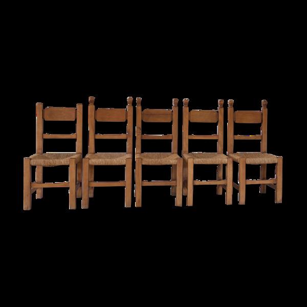 Ensemble de 5 chaises