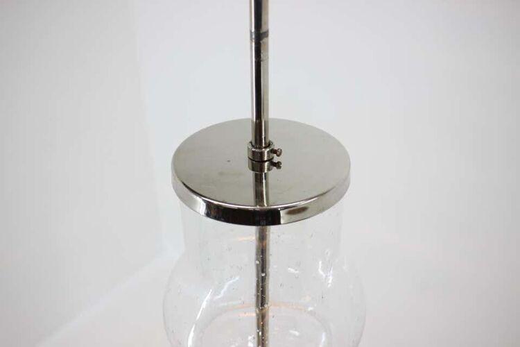 Paire de suspension en verre faits main, années 60