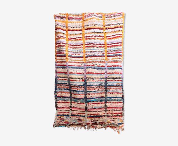 Tapis marocain boucherouite 130x230cm