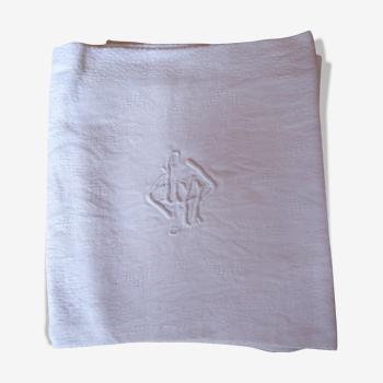 Lot de 7 serviettes de table monogrammées