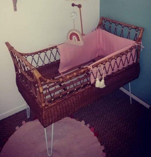 Lit pour bébé en Osier