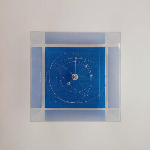 Horloge planètes solaires - Jeco Japon - 1960/70
